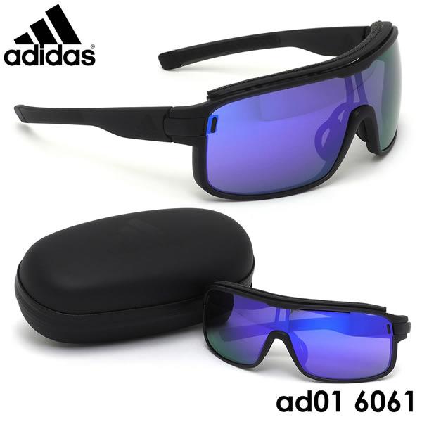 アディダス adidas サングラスad01/00 6061 サイズZONYK PRO Lサイズ ゾニックプロ スポーツサングラス アウトドア ミラー ポイント10倍アディダス adidas メンズ レディース