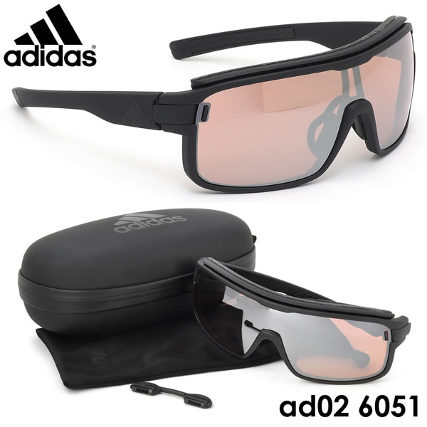 【アディダス】 (adidas) サングラスAD02 6051ZONYK PRO Sサイズ ゾニックプロ スポーツサングラス アウトドア ポイント10倍adidas メンズ レディース