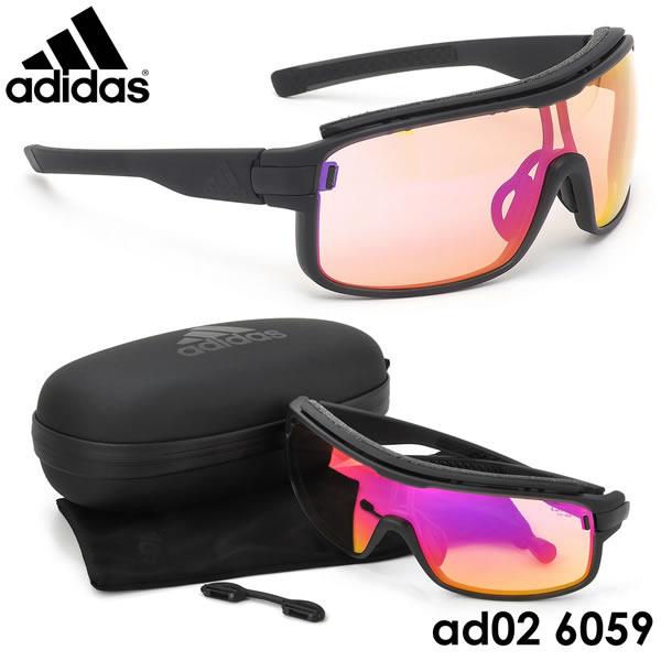 アディダス adidas サングラスad02 6059ZONYK PRO Sサイズ ゾニックプロ スポーツサングラス アウトドア VARIO 調光レンズ ポイント10倍アディダス adidas メンズ レディース