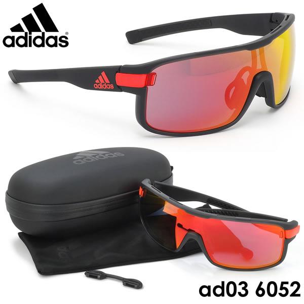 【アディダス】 (adidas) サングラスAD03 6052ZONYK Lサイズ ゾニック スポーツサングラス アウトドア ポイント10倍adidas メンズ レディース