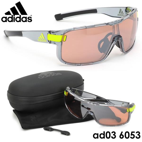 アディダス adidas サングラスad03 6053ZONYK Lサイズ ゾニック スポーツサングラス アウトドア ポイント10倍アディダス adidas メンズ レディース