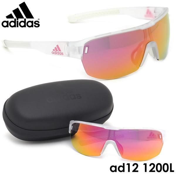 アディダス adidas サングラス ad12/75 1200L ZONYK AERO MIDCUT Lサイズ ゾニックエアロミッドカット スポーツサングラス アウトドア メンズ レディース