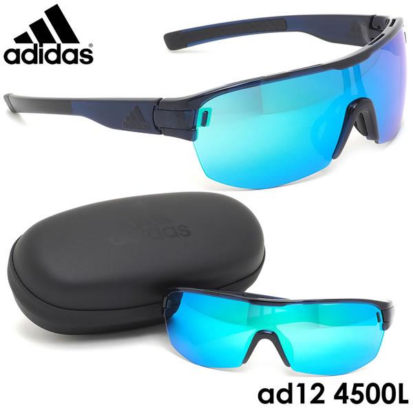アディダス adidas サングラスad12/75 4500L ZONYK AERO MIDCUT Lサイズ ゾニックエアロミッドカット スポーツサングラス アウトドア ポイント10倍メンズ レディース