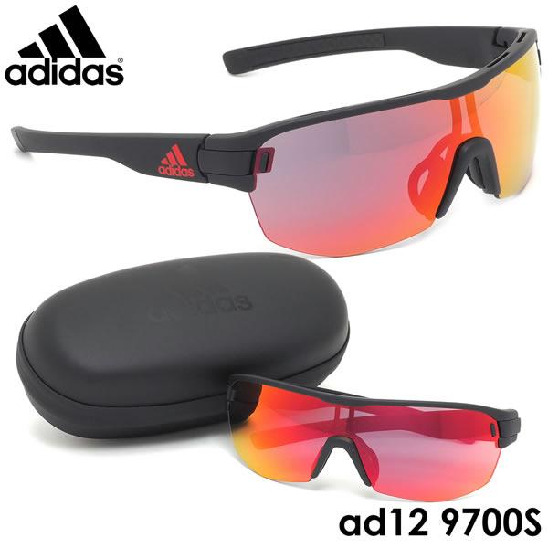 アディダス adidas サングラスad12/75 9700S ZONYK AERO MIDCUT Sサイズ ゾニックエアロミッドカット スポーツサングラス アウトドア ポイント10倍メンズ レディース