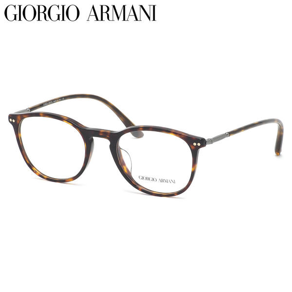 【GIRGIO ARMANI】 (ジョルジオアルマーニ) メガネAR7125F 5026 50サイズボストン GIRGIOARMANI メンズ レディース