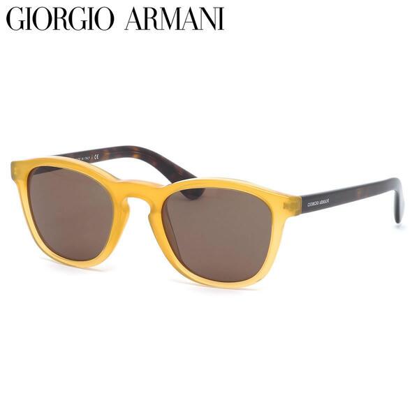 GIORGIO ARMANI ジョルジオアルマーニ サングラスAR8112 502773 50サイズFRAMES OF LIFE ウェリントン ジョルジオアルマーニGIORGIOARMANI メンズ レディース