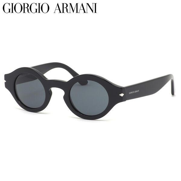 GIORGIO ARMANI ジョルジオアルマーニ サングラス AR8126 500187 43サイズ キーホールブリッジ ジョルジオアルマーニGIORGIOARMANI メンズ レディース