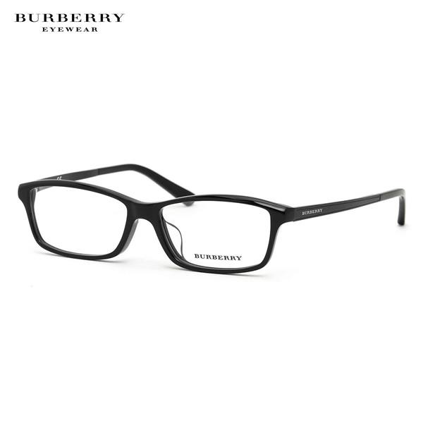 【BURBERRY】(バーバリー)メガネ フレーム BE2217D 3001 55サイズスクエア アジアンフィットバーバリー BURBERRY メンズ レディース