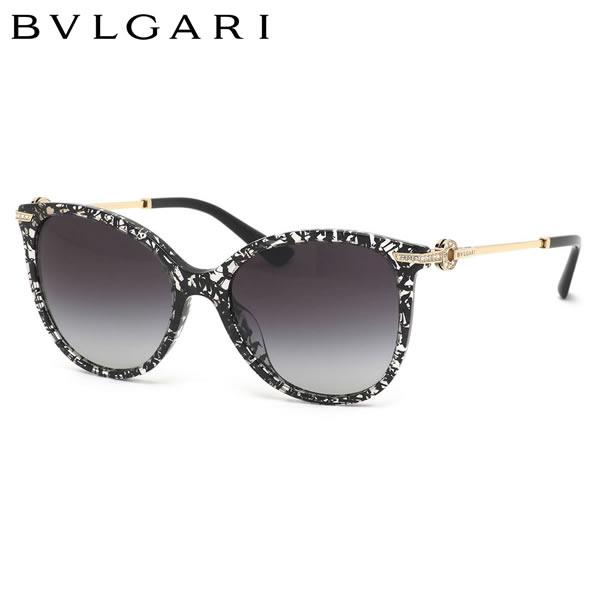ブルガリ BVLGARI サングラスBV8201BF 53768G 55サイズブルガリ・ブルガリ キャッツアイ フェミニン コンビネーション 異素材   フルフィットブルガリ BVLGARI レディース