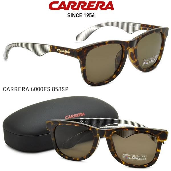 大幅値下げ!! 【CARRERA(カレラ)サングラス】CARRERA 6000FS 858SP偏光モデル【アジアンフィッティングモデル】
