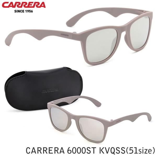 大幅値下げ!! 【CARRERA】(カレラ) サングラス CARRERA 6000ST KVQSS 51サイズ ウェリントン ミラー カレラ CARRERA carrera メンズ レディース