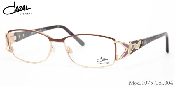 【CAZAL】(カザール) メガネ 1075 004 52サイズ CAZAL 伊達メガネレンズ無料 メンズ レディース