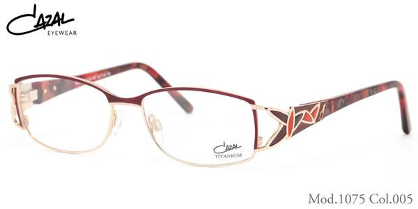 【CAZAL】(カザール) メガネ 1075 005 52サイズ CAZAL 伊達メガネレンズ無料 メンズ レディース