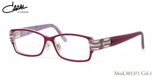 【CAZAL】(カザール) メガネ 3013/1 001 54サイズ CAZAL 伊達メガネレンズ無料 メンズ レディース
