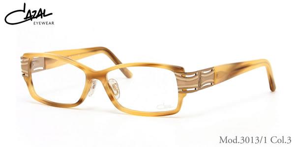 【CAZAL】(カザール) メガネ 3013/1 003 54サイズ CAZAL 伊達メガネレンズ無料 メンズ レディース