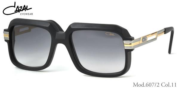 【CAZAL】(カザール) サングラス レジェンズ 607/2 011 56サイズ レジェンド CAZAL LEGENDS メンズ レディース
