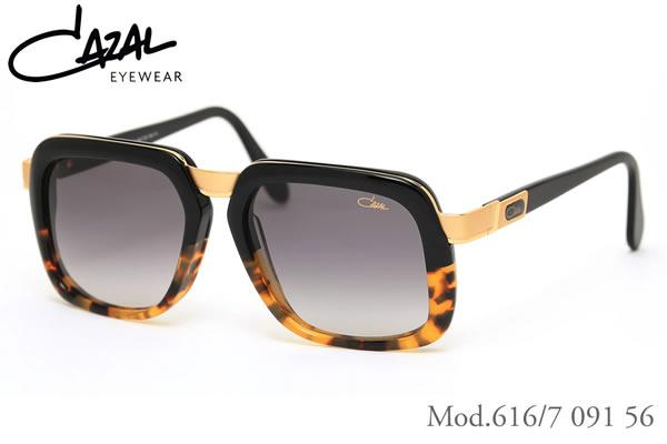 【CAZAL】(カザール) サングラス レジェンズ 616/7 091 56サイズ レジェンド CAZAL LEGENDS 限定生産 デミハーフコレクション メンズ レディース