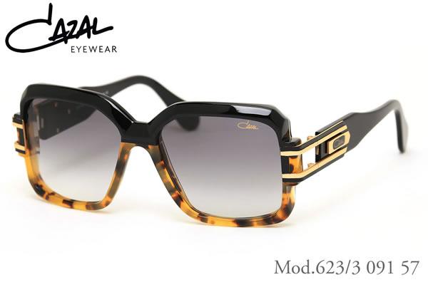 【CAZAL】(カザール) サングラス レジェンズ 623/3 091 57サイズ レジェンド CAZAL LEGENDS 限定生産 デミハーフコレクション メンズ レディース