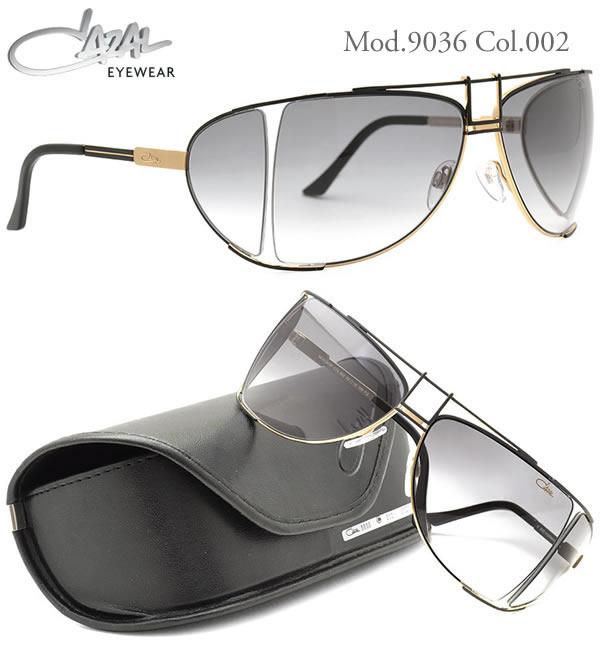 【CAZAL】(カザール) サングラス 9036 002 63サイズ CAZAL メンズ レディース