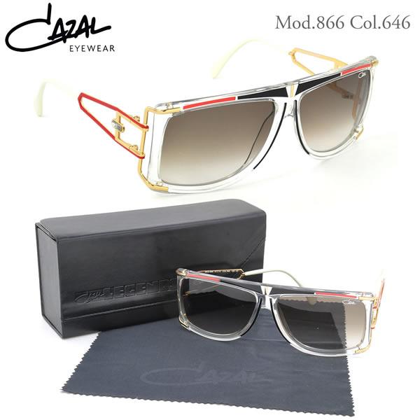 【CAZAL】(カザール) サングラス レジェンズ 866 646 61サイズ レジェンド CAZAL LEGENDS メンズ レディース