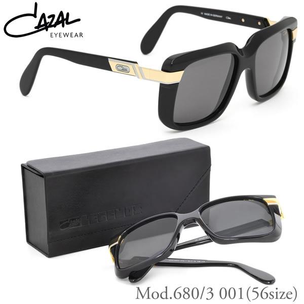 【CAZAL】(カザール) レジェンズ サングラス 680/3 001 56サイズ ティアドロップ VINTAGE ヴィンテージ カザール CAZAL LEGENDS メンズ レディース