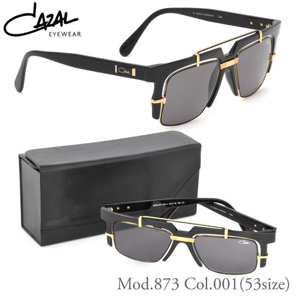 【カザール】 (CAZAL) サングラス873 001 53サイズLEGENDS レジェンズ ティアドロップ スクエア セレブCAZAL メンズ レディース