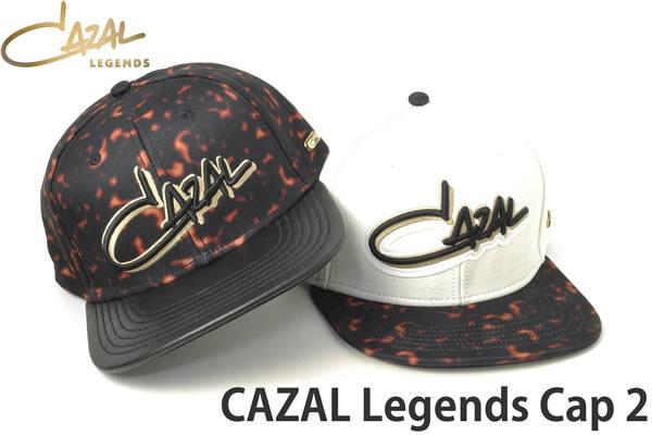 【CAZAL】(カザール) キャップ レザー 専用巾着袋付 CAZAL CAP LEGENDS LEATHER 本革 帽子 レジェンド レジェンズ メンズ レディース [ACC]