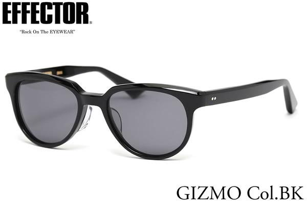 【EFFECTOR】エフェクター サングラス GIZMO BK/G 50サイズ エフェクター EFFECTOR ギズモ 日本製 メンズ レディース