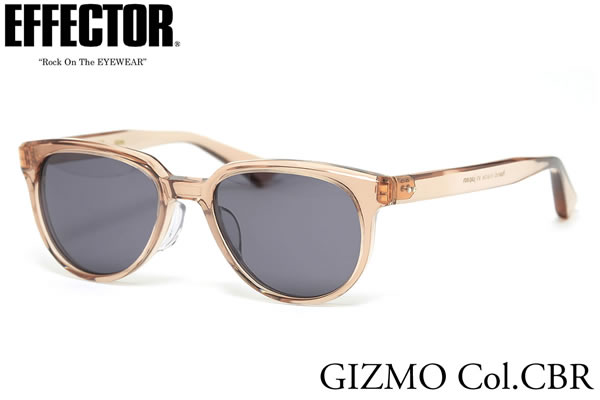 【EFFECTOR】エフェクター サングラス GIZMO CBR/G 50サイズ エフェクター EFFECTOR ギズモ 日本製 メンズ レディース