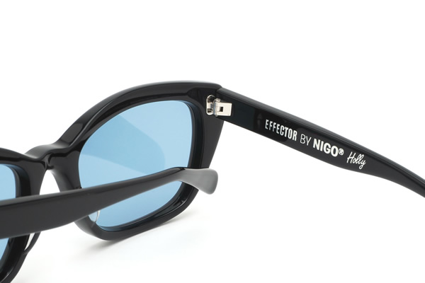 Effector sunglasses EFFECTOR by NIGO Holly BK 56 size effects-by Niger Holly Japan collaboration with men's women's