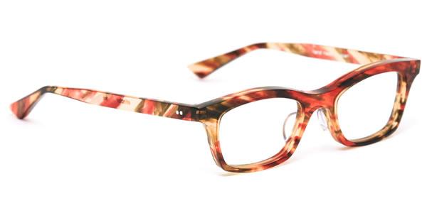 エフェクター 眼鏡 メガネ フレーム LYN RGC/S 47サイズ エフェクター effector リン UVカット仕様伊達メガネレンズ付 日本製 セルロイド レディース メンズ