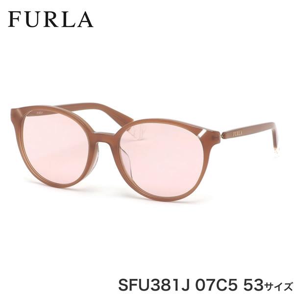 フルラ FURLA サングラス SFU381J 07C5 53サイズ シンプル レディース