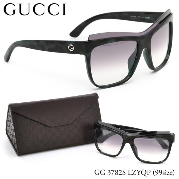 【GUCCI】(グッチ) サングラス GG3782S LZYQP 99サイズ スクエア 一枚レンズ シールドレンズ グッチ GUCCI メンズ レディース