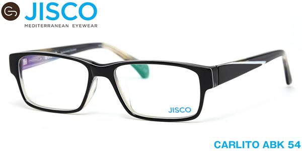 【14時までのご注文は即日発送】CARLITO ABK 54サイズ JISCO (ジスコ) メガネ バネ蝶番 バネ丁番 メンズ レディース 【伊達メガネ用レンズ無料!!】【あす楽対応】【LOS40】