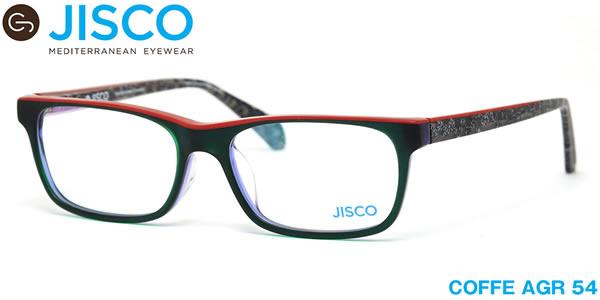 【14時までのご注文は即日発送】COFFE AGR 54サイズ JISCO (ジスコ) メガネ バネ蝶番 バネ丁番 メンズ レディース 【伊達メガネ用レンズ無料!!】【あす楽対応】【LOS40】