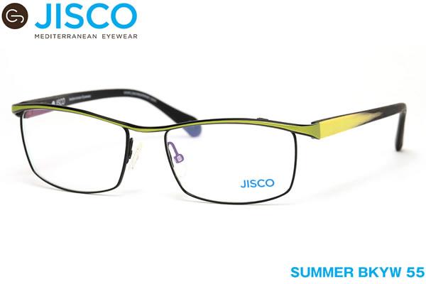 【14時までのご注文は即日発送】SUMMER BKYW 55サイズ JISCO (ジスコ) メガネ バネ蝶番 バネ丁番 メンズ レディース 【伊達メガネ用レンズ無料!!】【あす楽対応】【LOS40】