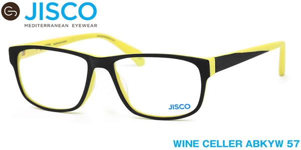 【14時までのご注文は即日発送】WINE CELLER ABKYW 57サイズ JISCO (ジスコ) メガネ バネ蝶番 バネ丁番 メンズ レディース 【伊達メガネ用レンズ無料!!】【あす楽対応】【LOS40】