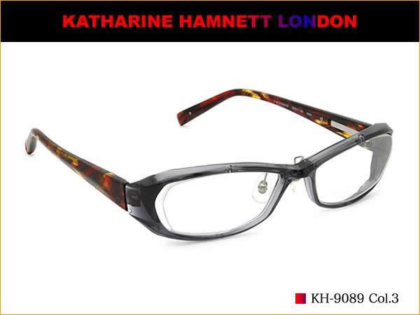 キャサリンハムネット メガネ KATHARINE HAMNETT メガネセット KH-9089 3 伊達メガネ用レンズ無料!! あす楽対応 LOS50