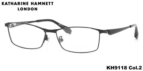 【キャサリンハムネット メガネ】KATHARINE HAMNETT メガネフレーム KH9118 2 56【伊達メガネ用レンズ無料!!】【あす楽対応】