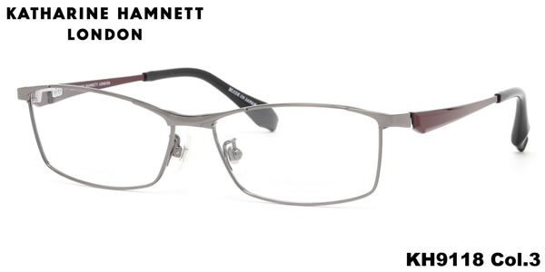 キャサリンハムネット メガネ KATHARINE HAMNETT メガネフレーム KH9118 3 56 伊達メガネ用レンズ無料!! あす楽対応 LOS50