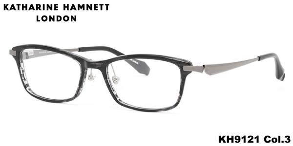 【キャサリンハムネット メガネ】KATHARINE HAMNETT メガネフレーム KH9121 3 52【伊達メガネ用レンズ無料!!】【あす楽対応】