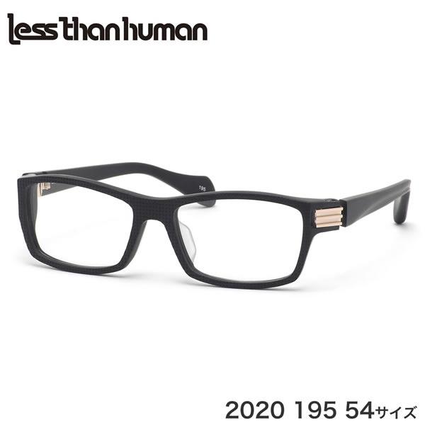 レスザンヒューマン Less than human メガネ 2020 195 54サイズ フワフワ ふわふわ LRAD ADS レスザンヒューマンLessthanhuman メンズ レディース