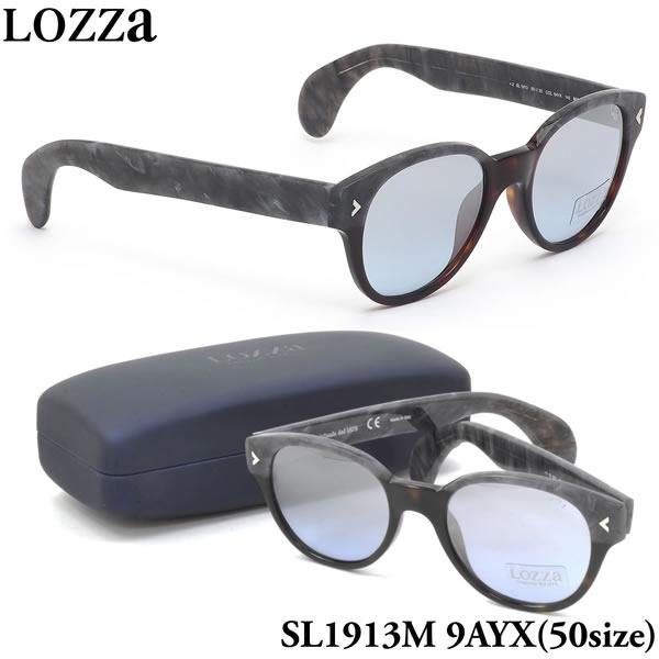 【ロッツァ】 (LOZZA) サングラスSL1913M 9AYX 50サイズMACHO ミラーレンズLOZZA メンズ レディース