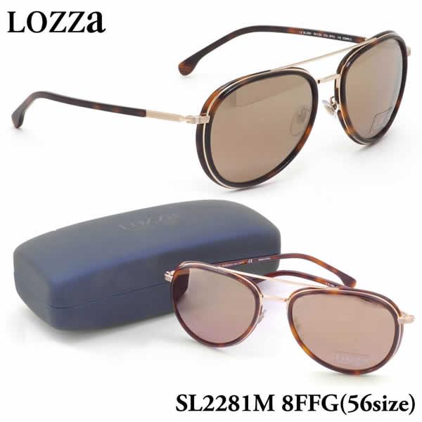 【ロッツァ】 (LOZZA) サングラスSL2281M 8FFG 56サイズCOMO 2 ミラーレンズLOZZA メンズ レディース