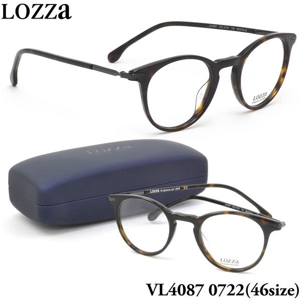 ロッツァ LOZZA メガネ VL4087 0722 46サイズ MONTALE LOZZA メンズ レディース