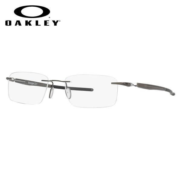 オークリー OAKLEY メガネOX5126-0254GAUGE3.1 ゲージ3.1スクエア ツーポイント リムレスオークリー OAKLEY 伊達メガネレンズ無料 メンズ レディース