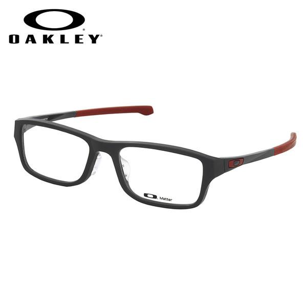 【オークリー】 (OAKLEY) メガネOX8045-0355CHAMFER ASIA FIT Satin Pavementシャンファー アジアフィット スクエアOAKLEY 伊達メガネレンズ無料 メンズ レディース