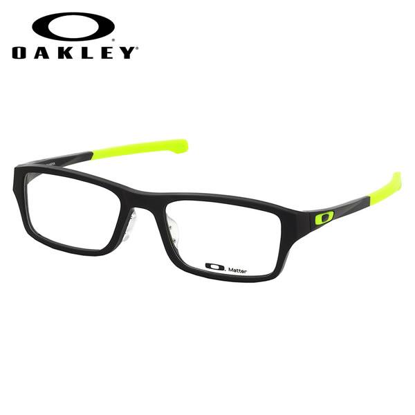 【オークリー】 (OAKLEY) メガネOX8045-0755CHAMFER ASIA FIT Satin Black Retina Burnシャンファー アジアフィット スクエアOAKLEY 伊達メガネレンズ無料 メンズ レディース