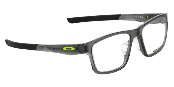 351a79593e -OAKLEY glasses OX8051-0254 HYPERLINK ASIA FIT Gray Smoke hyperlink Asian  fit square OAKLEY ITA eyeglass lens free men women
