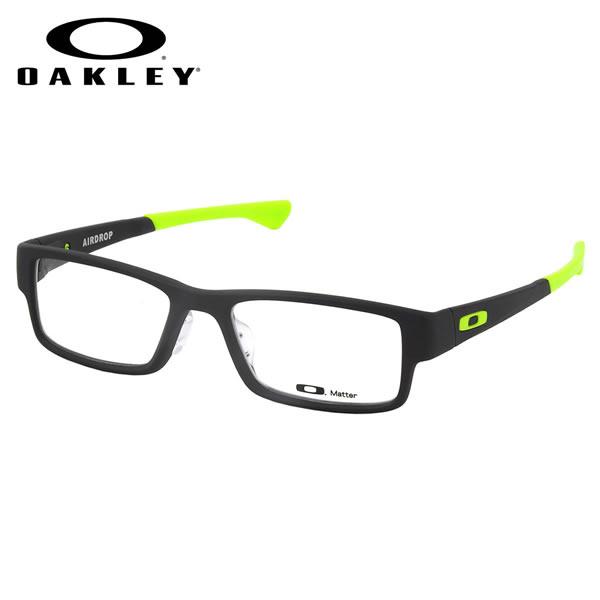 【オークリー】 (OAKLEY) メガネOX8065-0755AIRDROP ASIA FIT Satin Black Retina Burnエアドロップ アジアフィット スクエアOAKLEY 伊達メガネレンズ無料 メンズ レディース